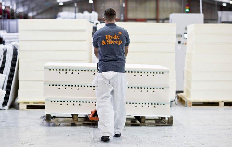 Hyde and Sleep mattress reviews - UK warehouse