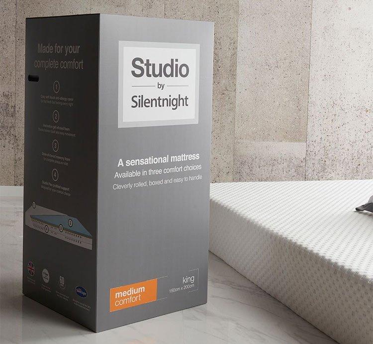 Studio by Silentnight mattresses - box